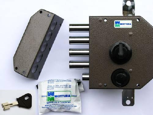 Cadenas, système de fermeture sophistiqué...la marque Mottura détient de nombreux produits pour assurer votre sécurité